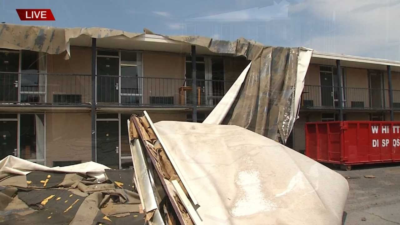 Muskogee's Bacone College Left With Debris, Mold After Pounding Storm