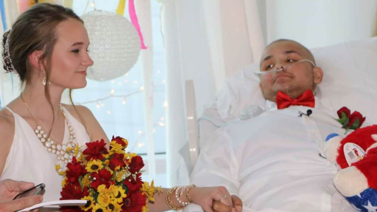 Sand Springs Teen Fighting Cancer Marries Sweetheart In Hospital