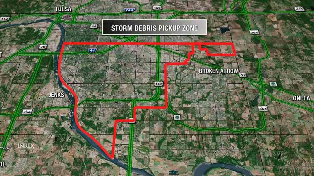 Tulsa Crews Start Storm Debris Pick Up