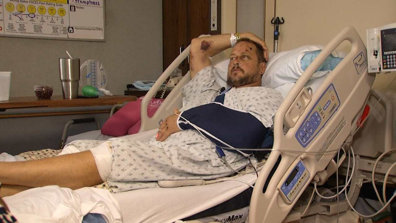 Injured Bicyclist: 'I Feel Really Lucky Just To Be Alive'