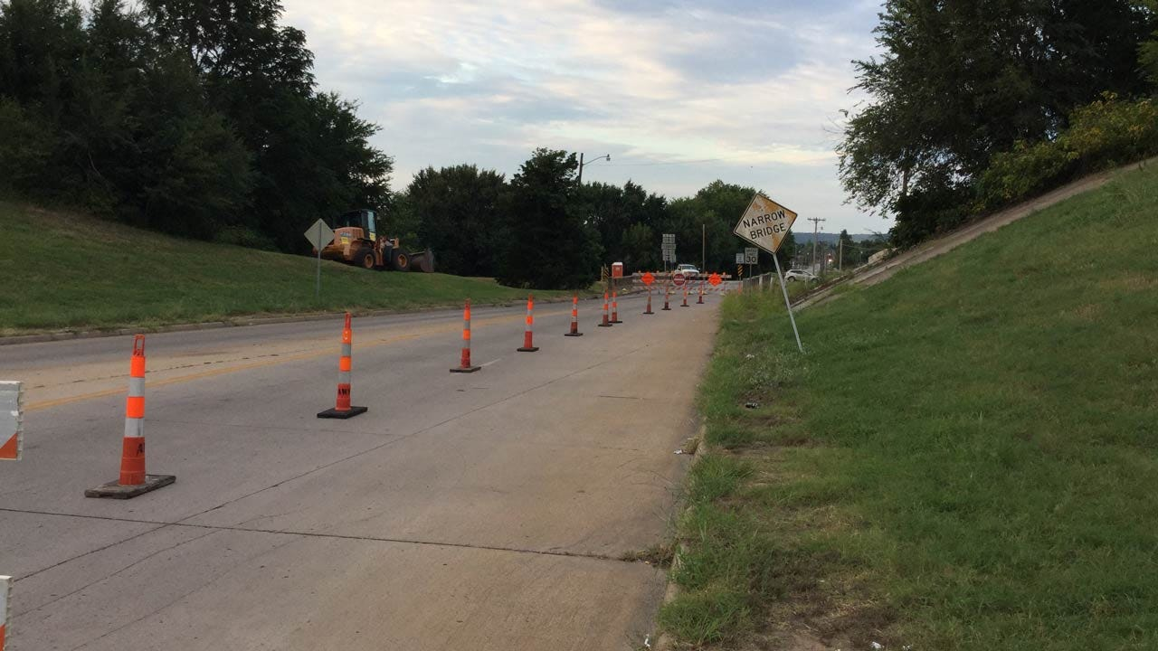 Tulsa Street Closed For Bridge Replacement Project