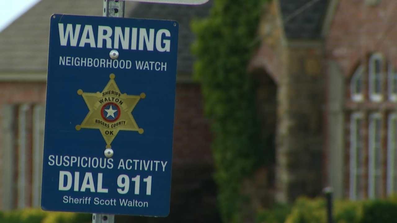 Sheriff: Rogers Co. Neighborhood Watch Programs Are Working