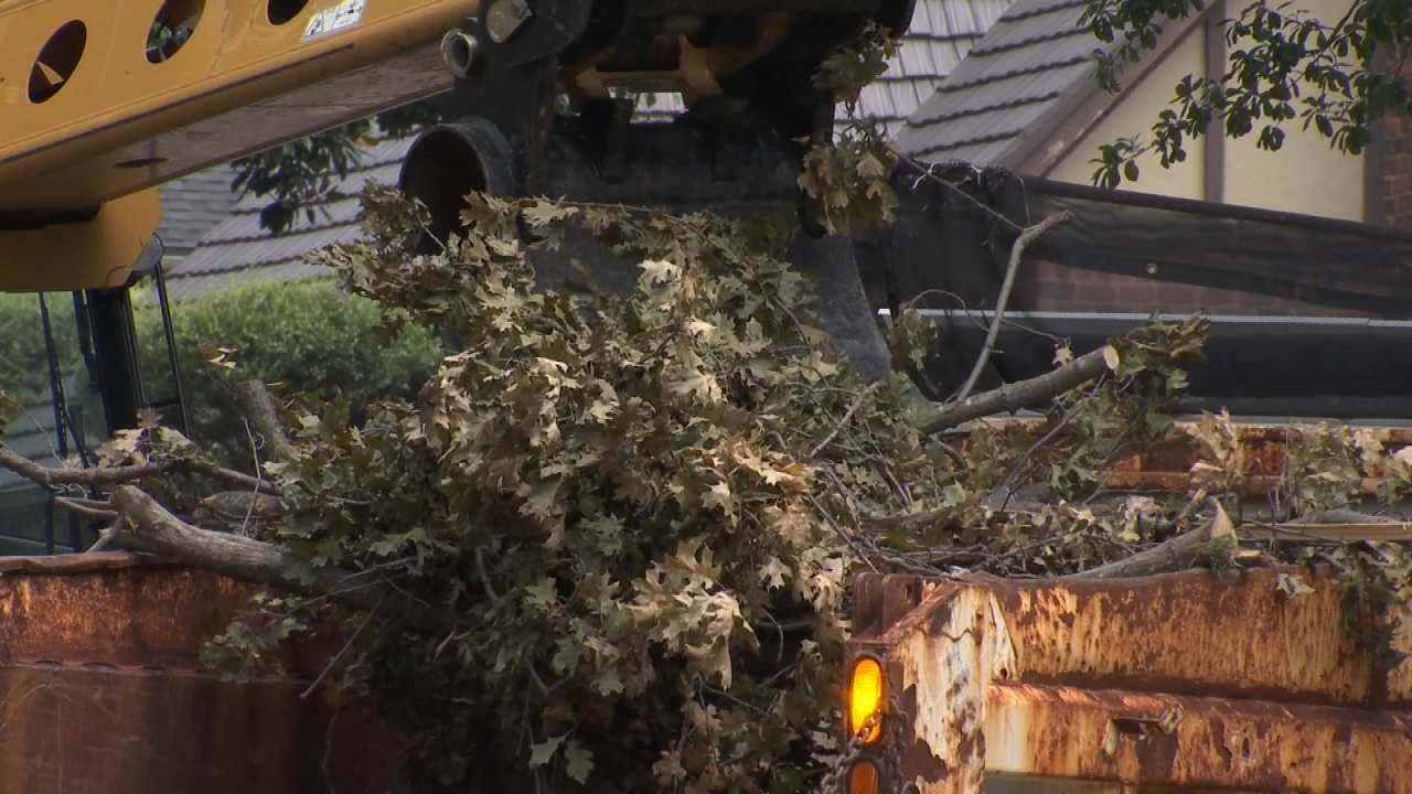 Storm Cleanup Goes Into Day 3 For Tulsa Crews