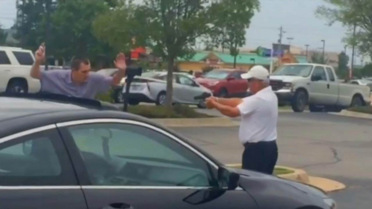 Man Suspected Of Stealing Golf Clubs Files Complaint On Man Who Held Him At Gunpoint