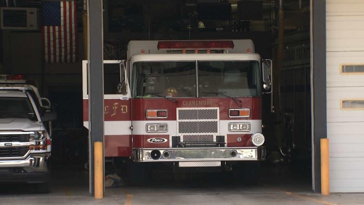 Sewage Gas Leak Shuts Down Claremore Fire Station