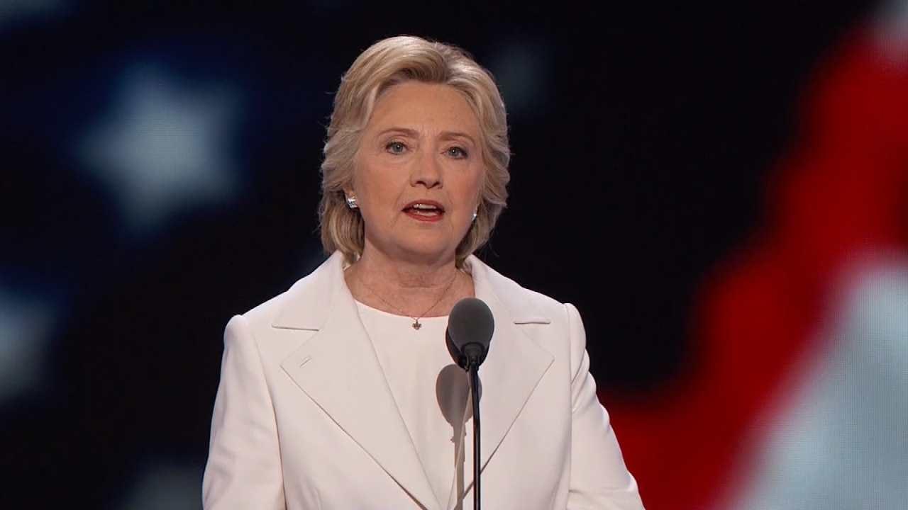 Hillary Clinton Accepts Democratic Presidential Nomination