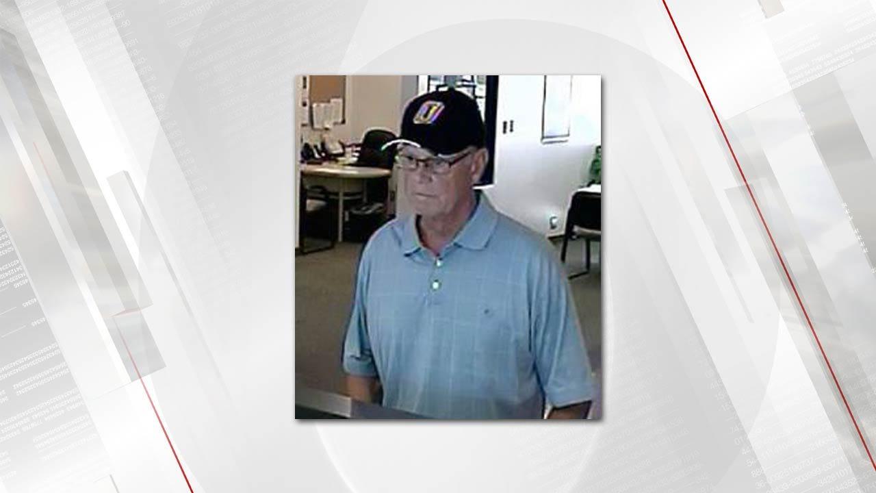 Man Robs Tulsa Bank