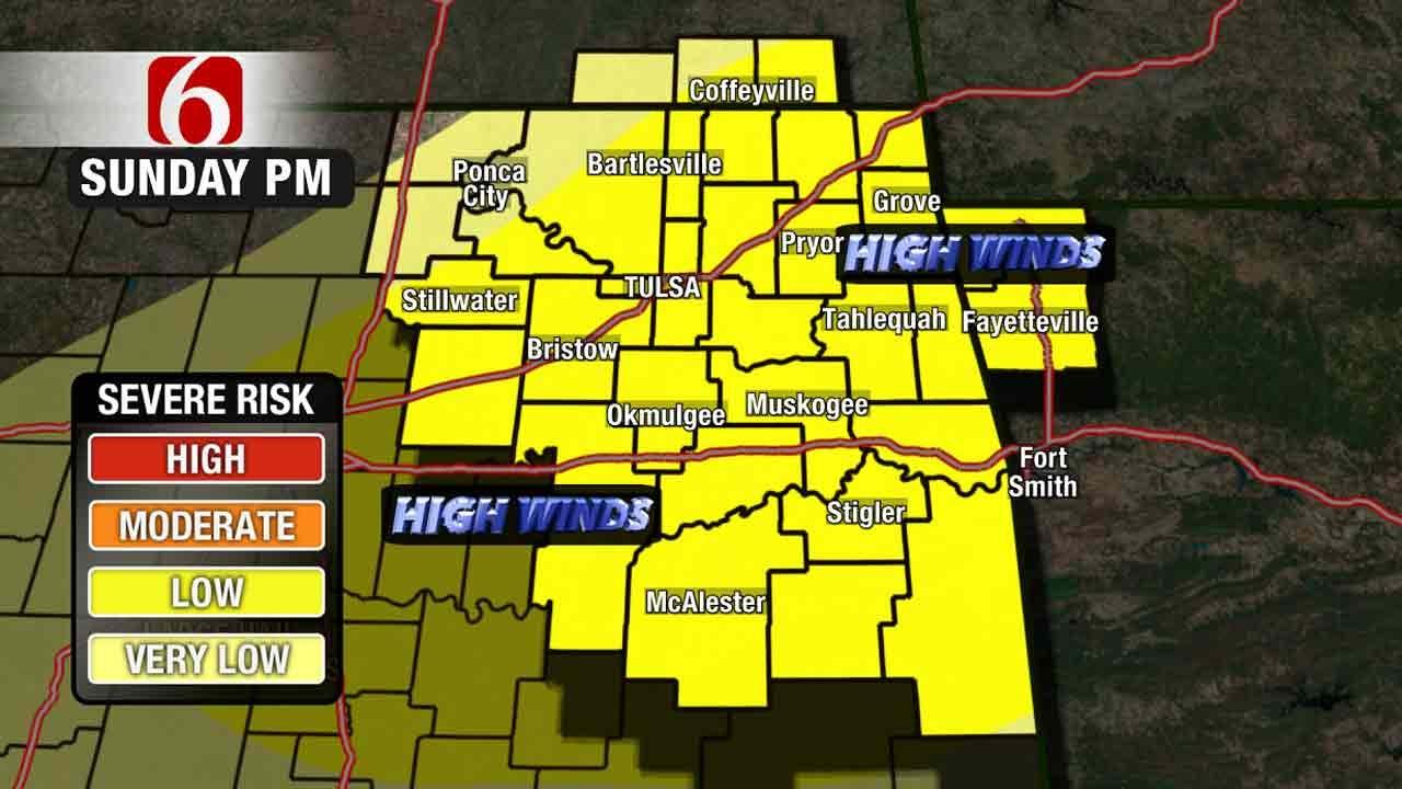 Severe Thunderstorm Watch Issued For Green Country