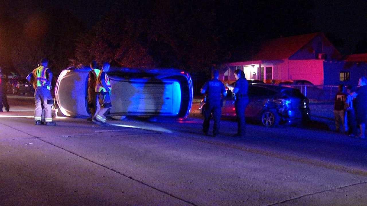 Police: Speed A Factor In Tulsa Rollover Crash