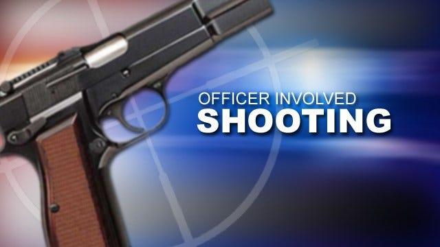 Spiro Officer Shoots Wanted Sex Offender