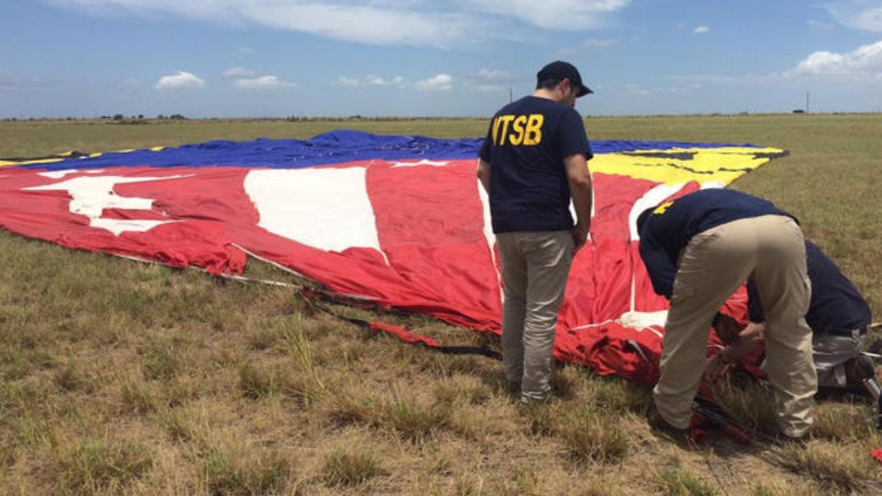 Death Toll In Texas Hot Air Balloon Crash Stands At 16