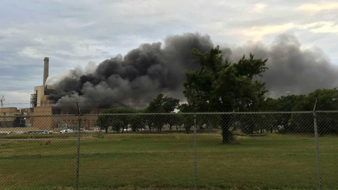 Chouteau Power Plant Offline After Fire