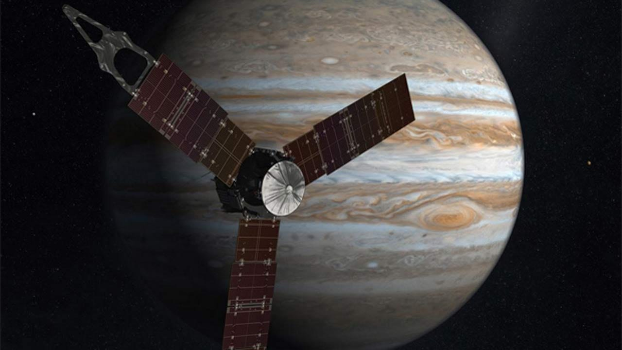 NASA Scientists, Engineers Thrilled With Jupiter Probe