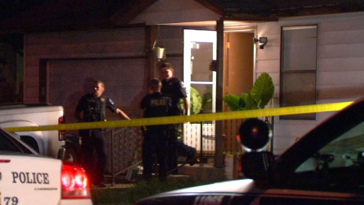 Tulsa Man Shot On His Front Porch