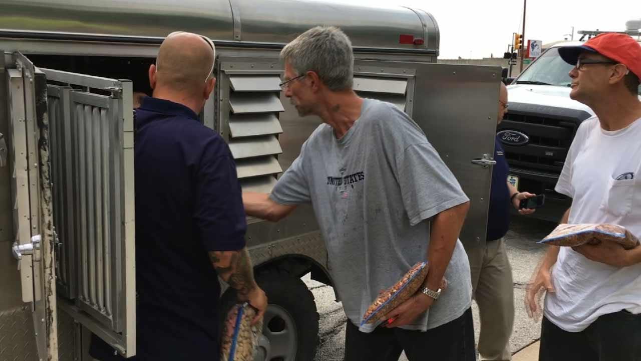 Animal Welfare Food Trucks Help Tulsans In Need Feed Hungry Pets