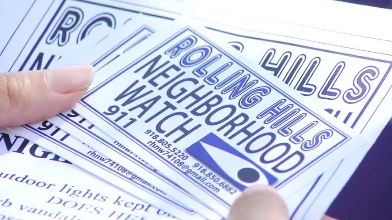 Catoosa Neighborhood Proposes Simple Tactic To Help Battle Crime