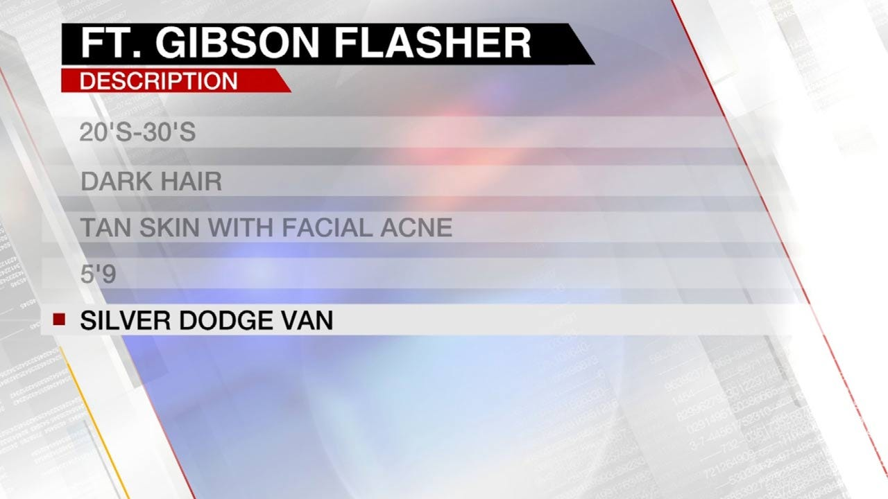 Fort Gibson Police Search For Man Exposing Self To Children