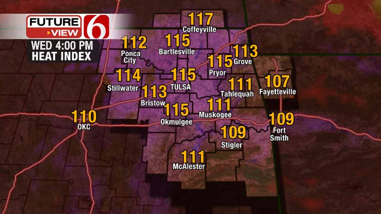 Morning Storms Give Way To Afternoon Heat In Green Country