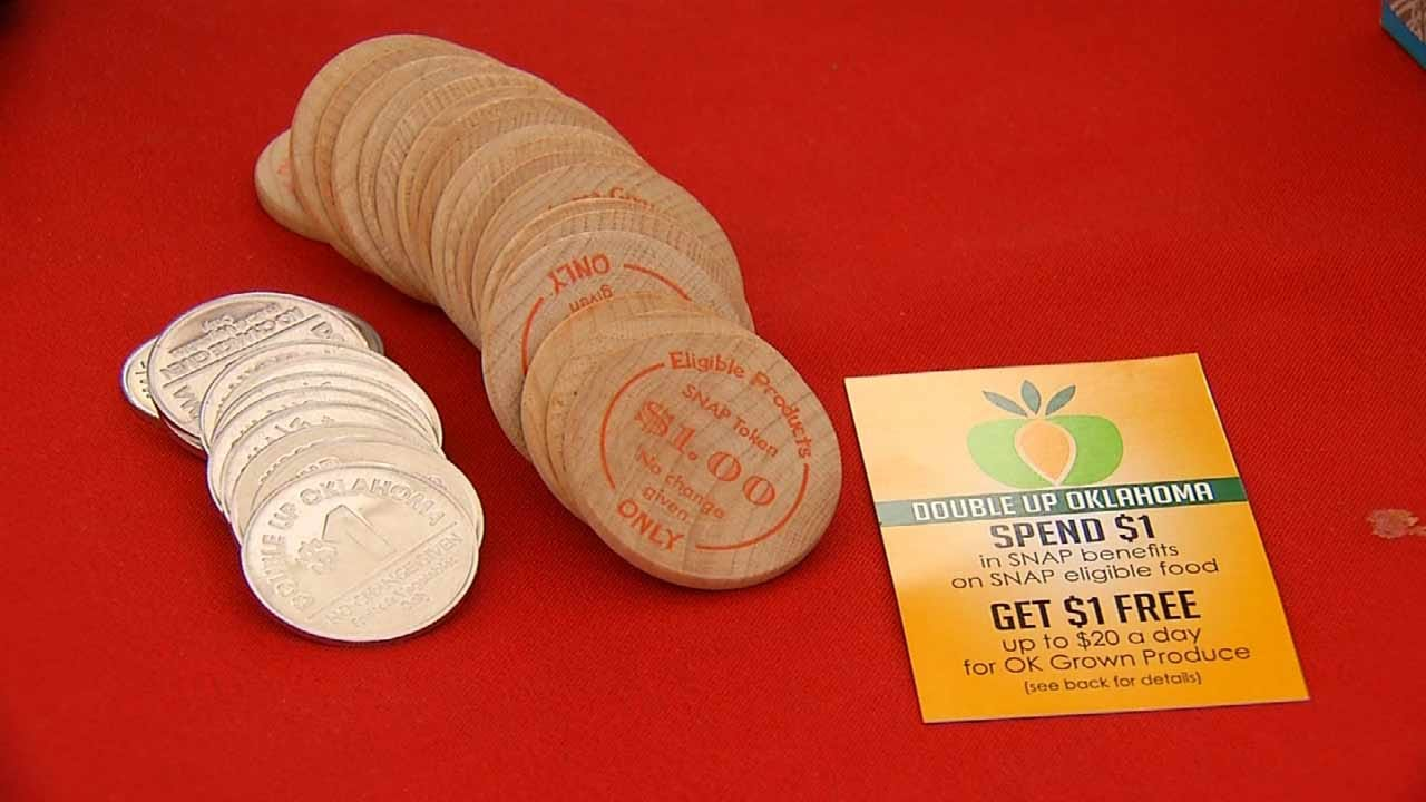 Oklahoma's SNAP Program Helps Farmers Market Shoppers Double Their Money