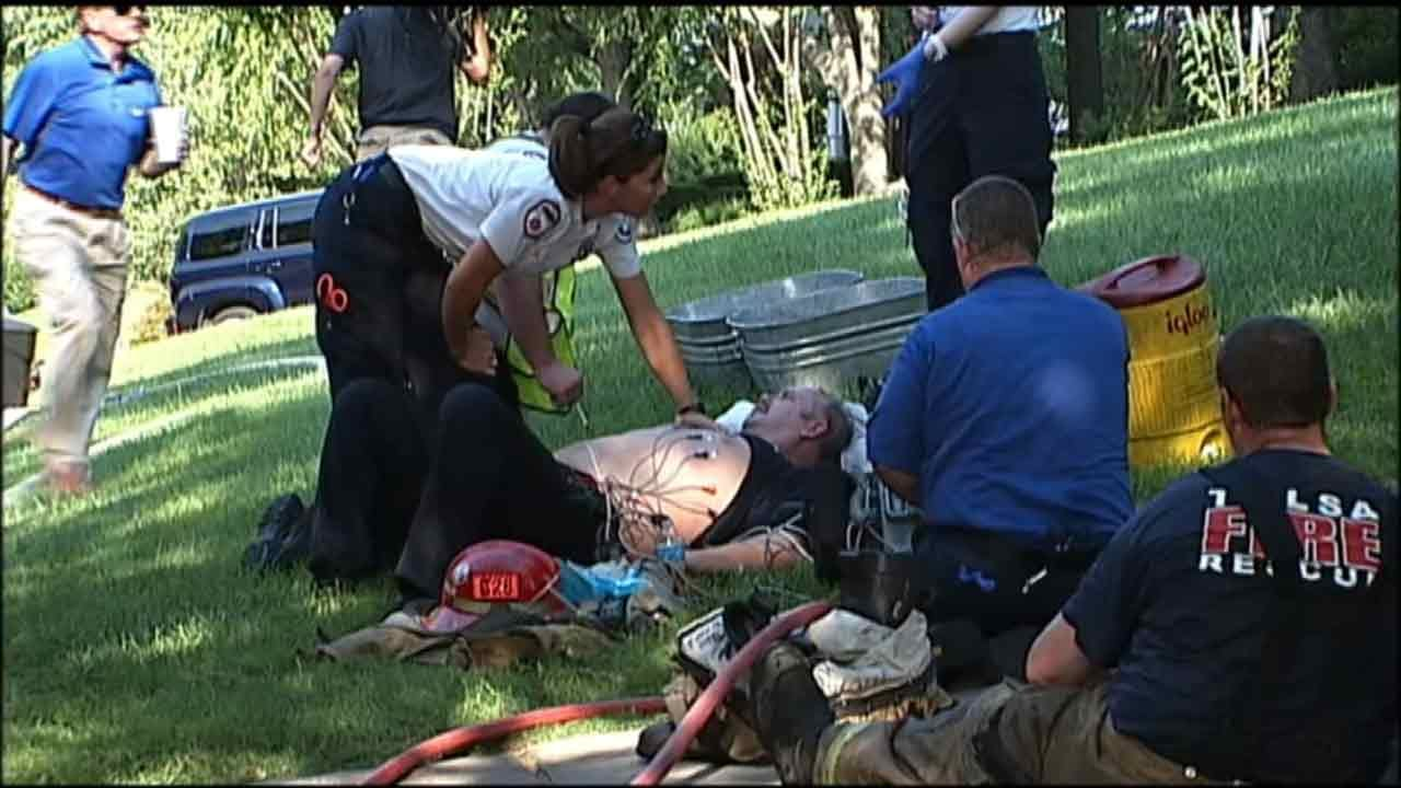 Tulsa Firefighters Prepared For Possibility Of Overheating As Temperatures Rise
