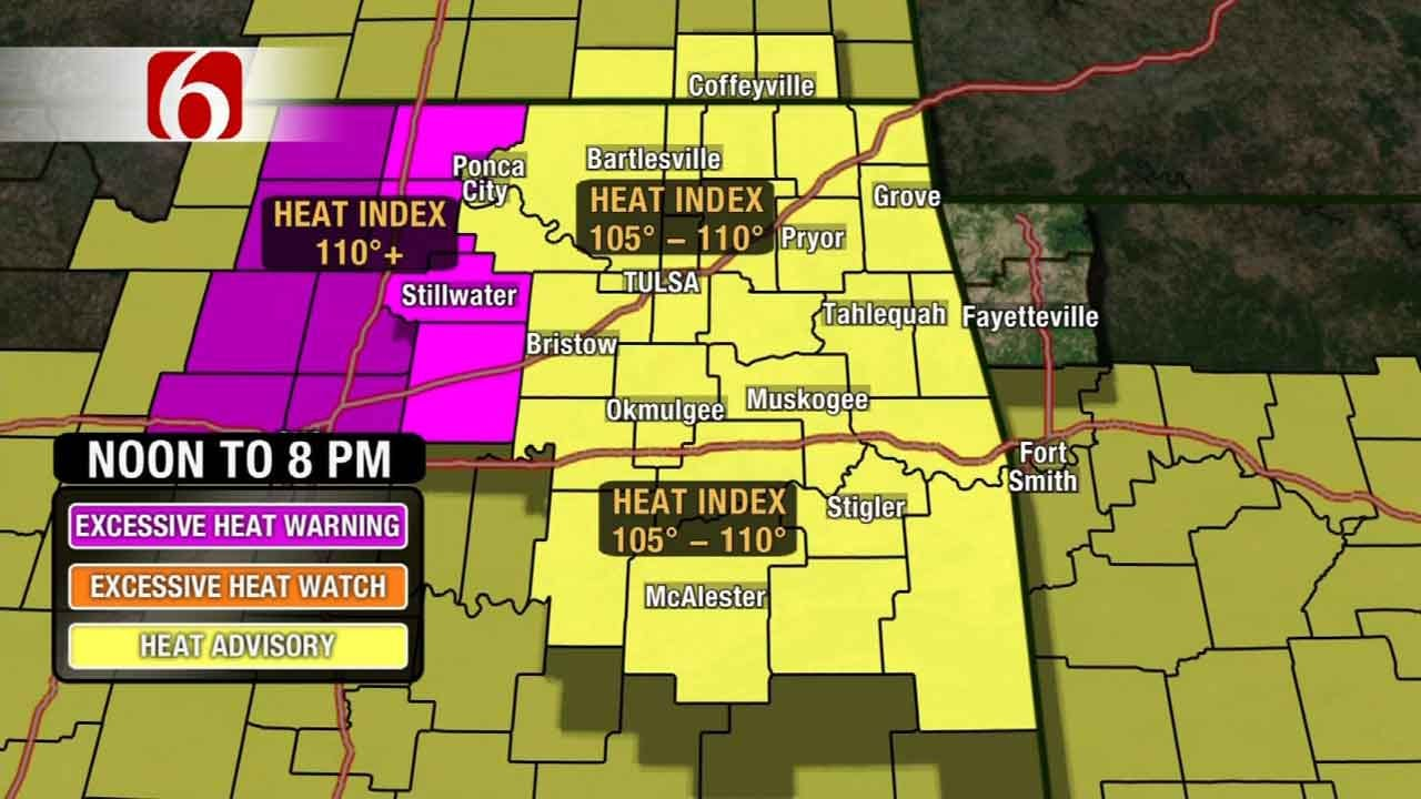 Dangerously Hot Afternoon In Store For Green Country