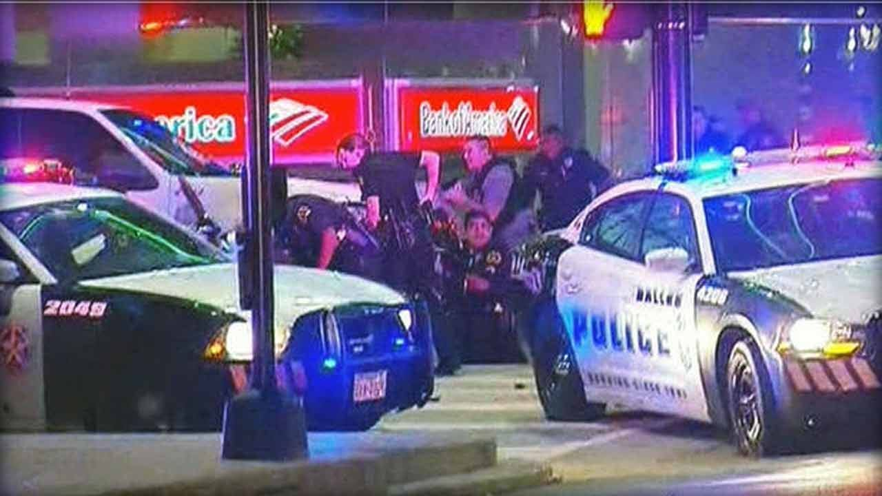 Eleven Officers Shot At Dallas Protest Against Police Shootings