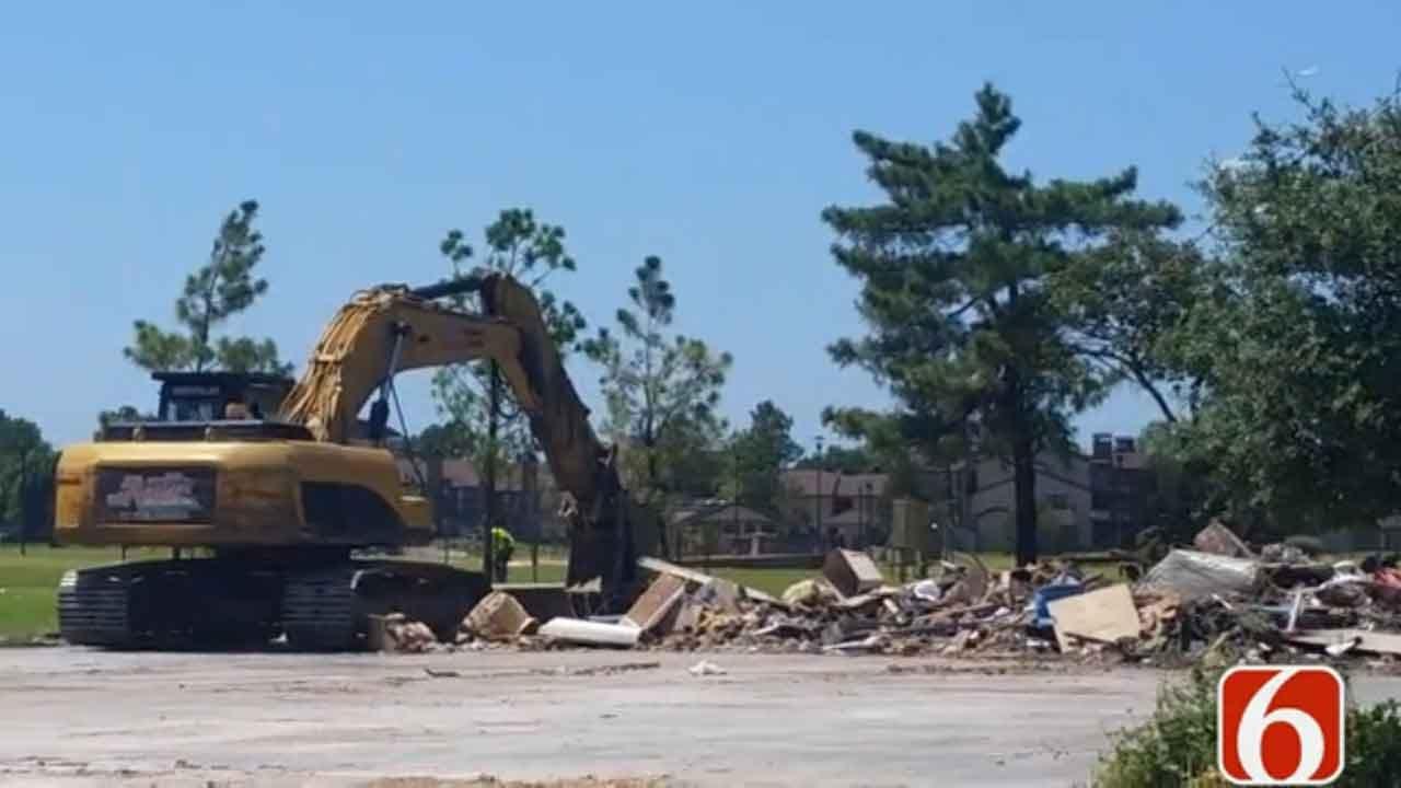 Tulsa Rowing Club Building Demolished Following Arson