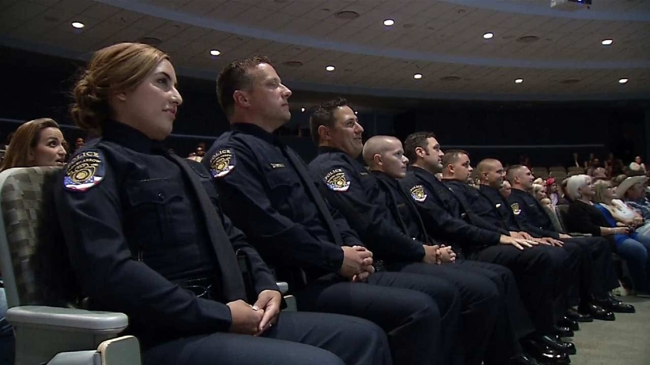BAPD Honors Dallas Officers At Graduation Ceremony