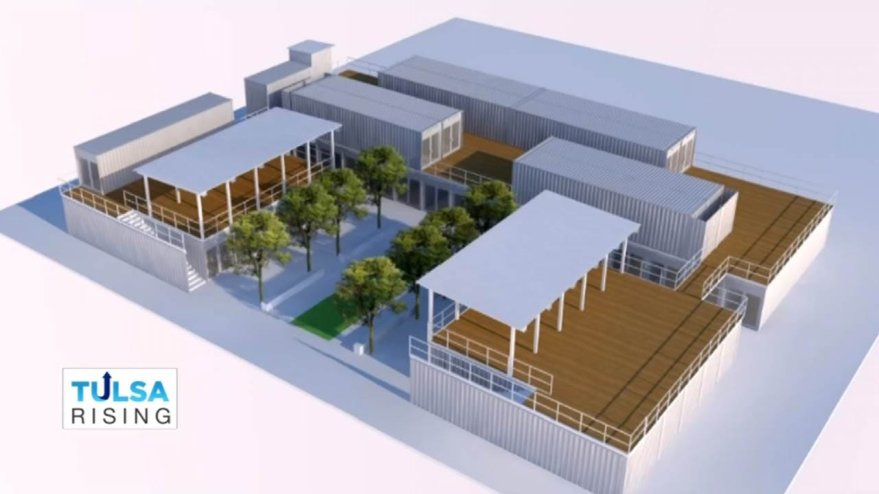 Construction Begins On 'The Boxyard' In Tulsa's East Village