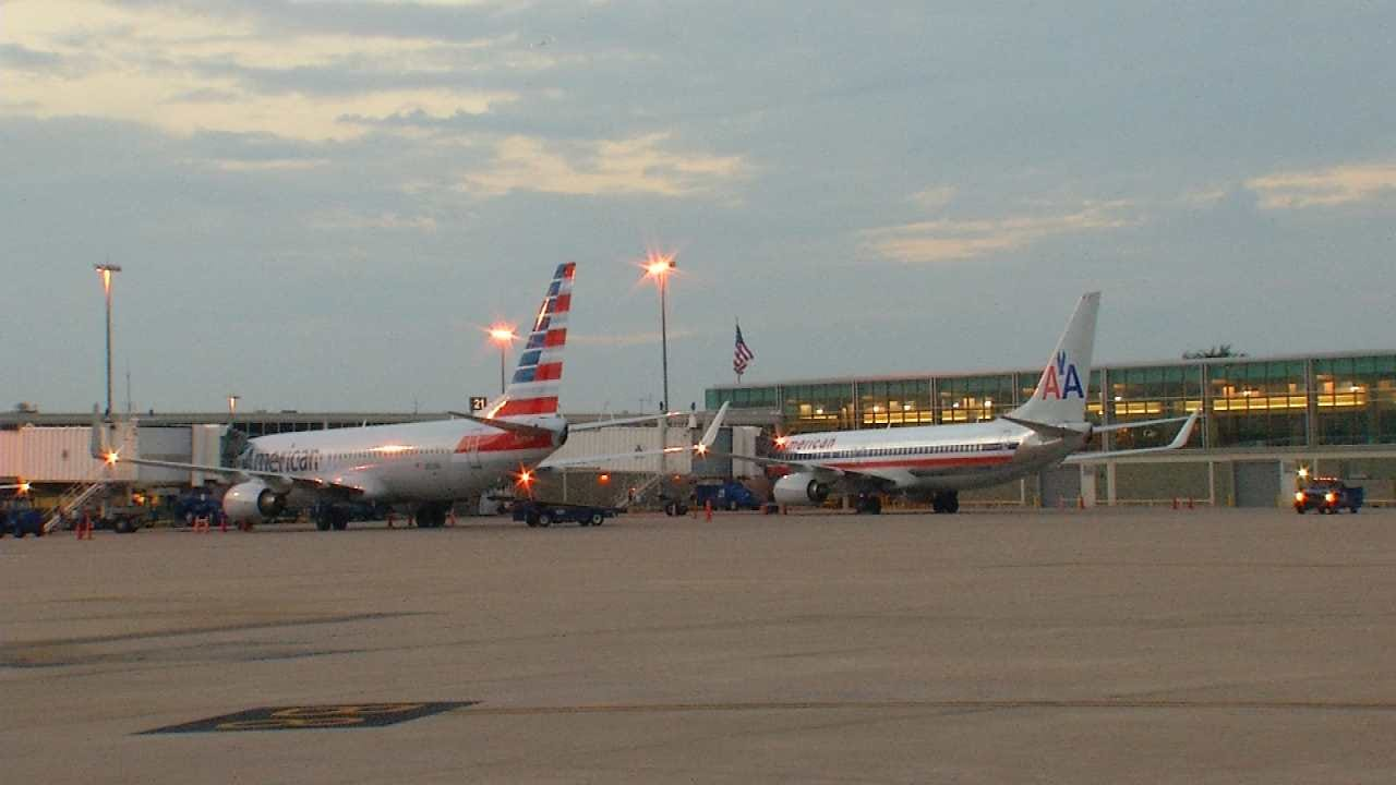 Severe Weather In Dallas Diverts Flights To Tulsa