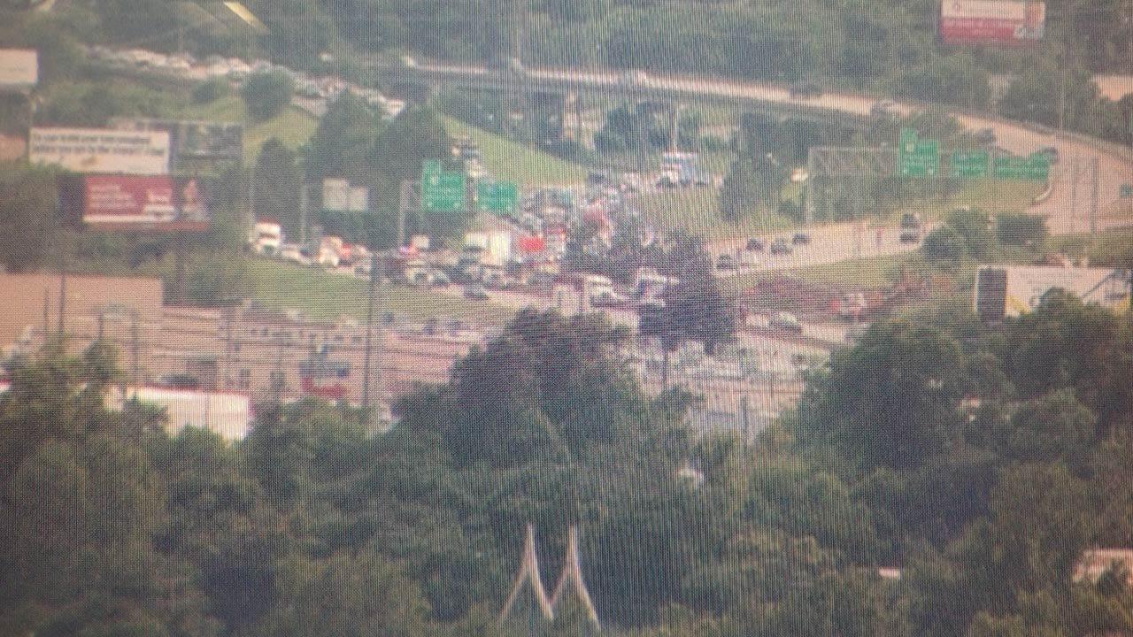 Wreck Causes Traffic Mess On Tulsa Highway