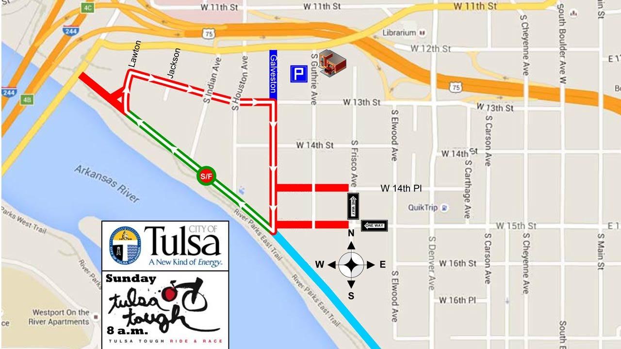 Tulsa Tough Heating Up In Downtown Tulsa
