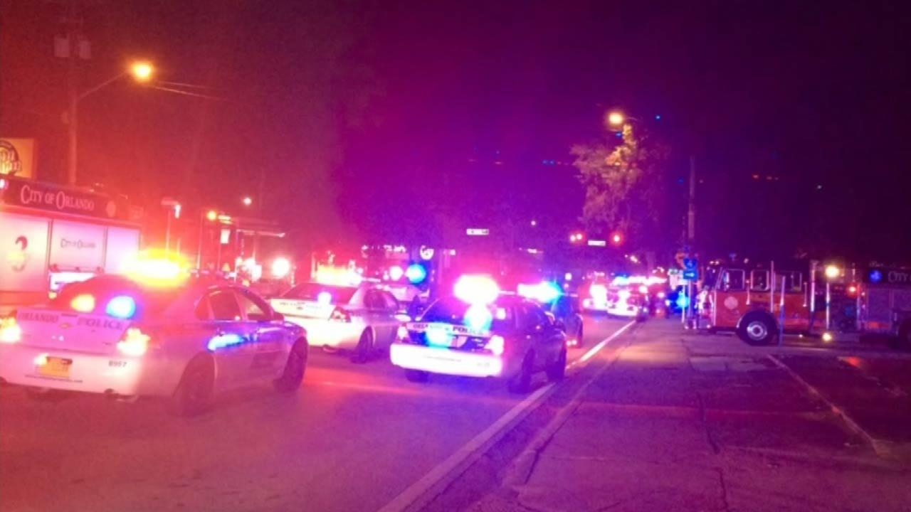 50 People Slain In Orlando Shooting; Islamic Terrorism Link Eyed