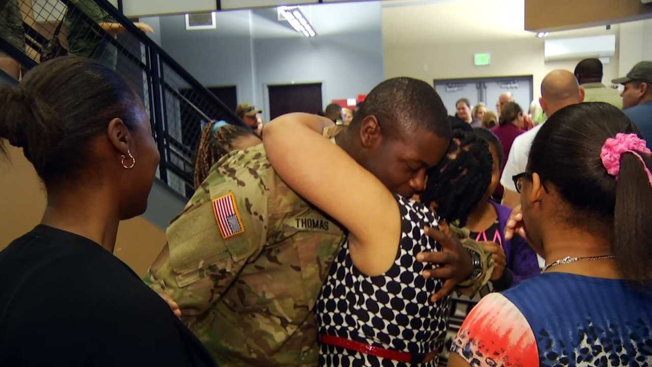 Oklahoma National Guard Battalion Deploys To Middle East