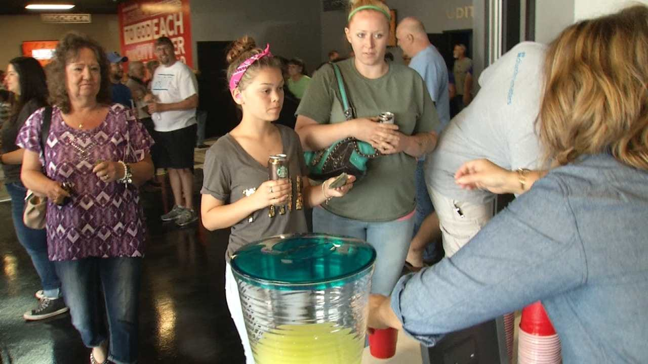 Sand Springs Church Helps Girls In Breast Cancer Fundraiser