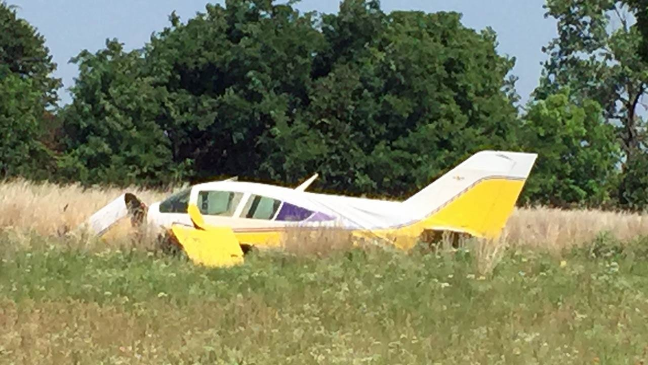 Pilot Hurt When Plane Makes Hard Landing Near Keystone Lake