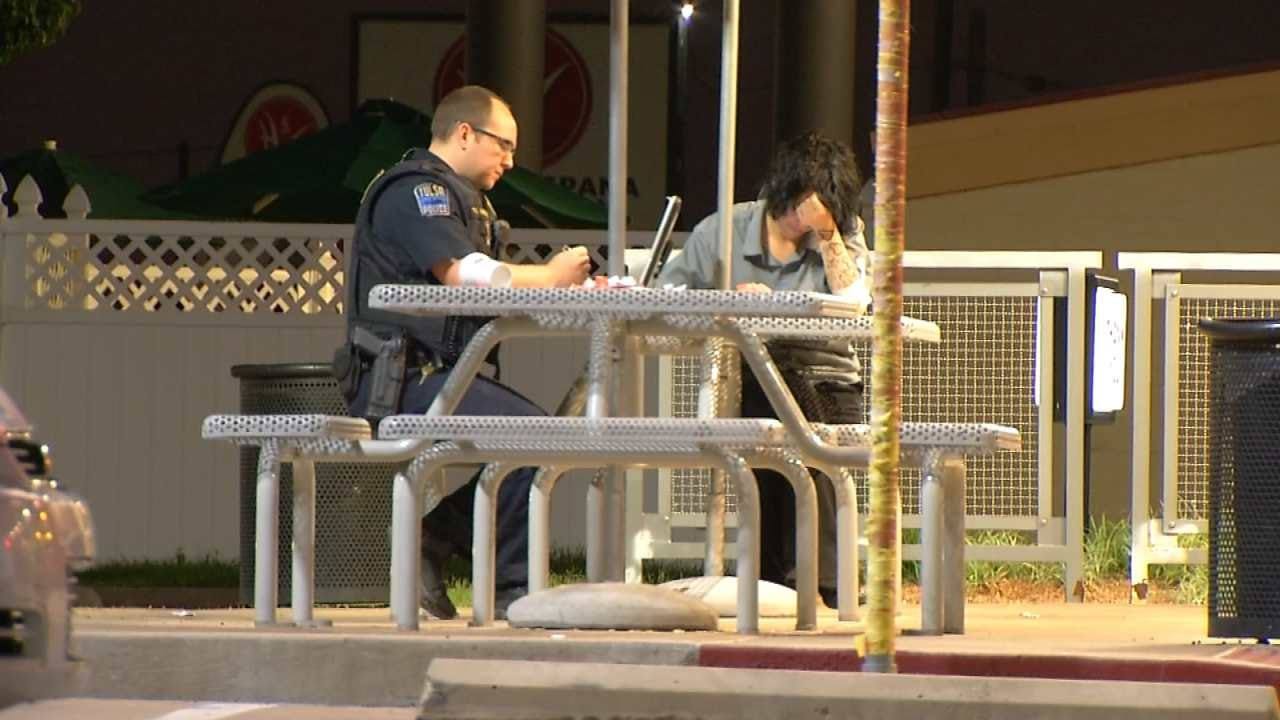 Two Men Rob Tulsa Woman At Knifepoint