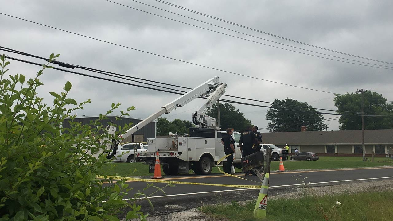 Utility Worker Electrocuted In Tulsa