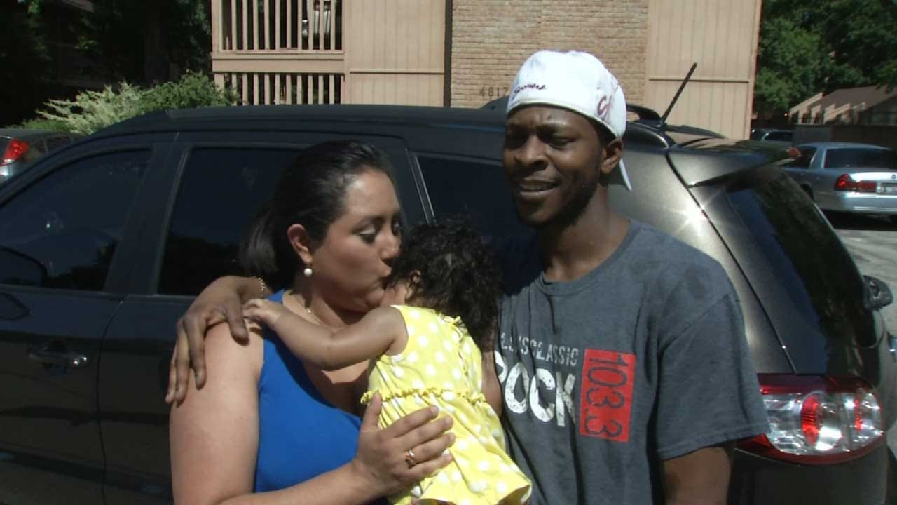 Family Reunited After SUV With Baby Inside Stolen From Tulsa QuikTrip