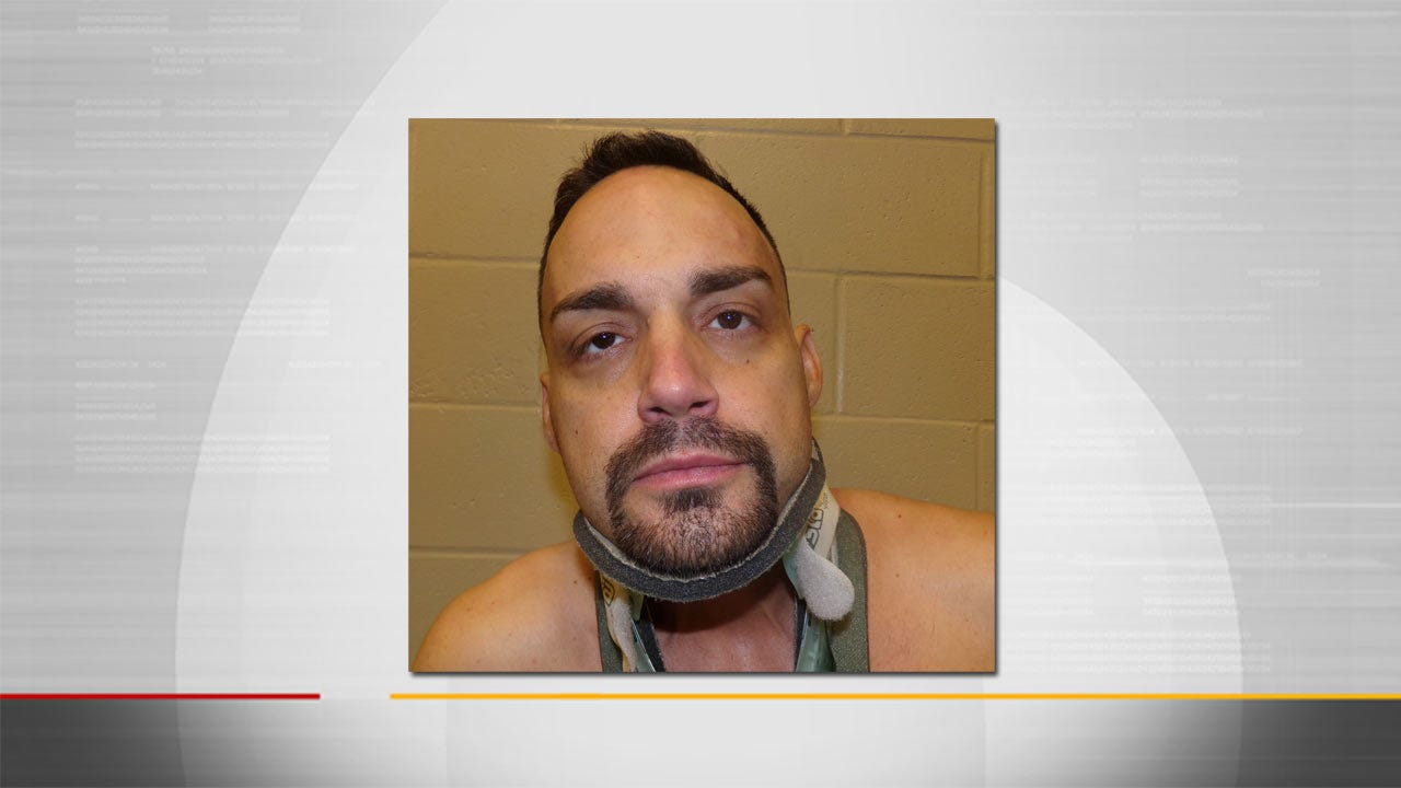 Man Recently Injured At Tulsa Jail Arrested For Theft In Bartlesville