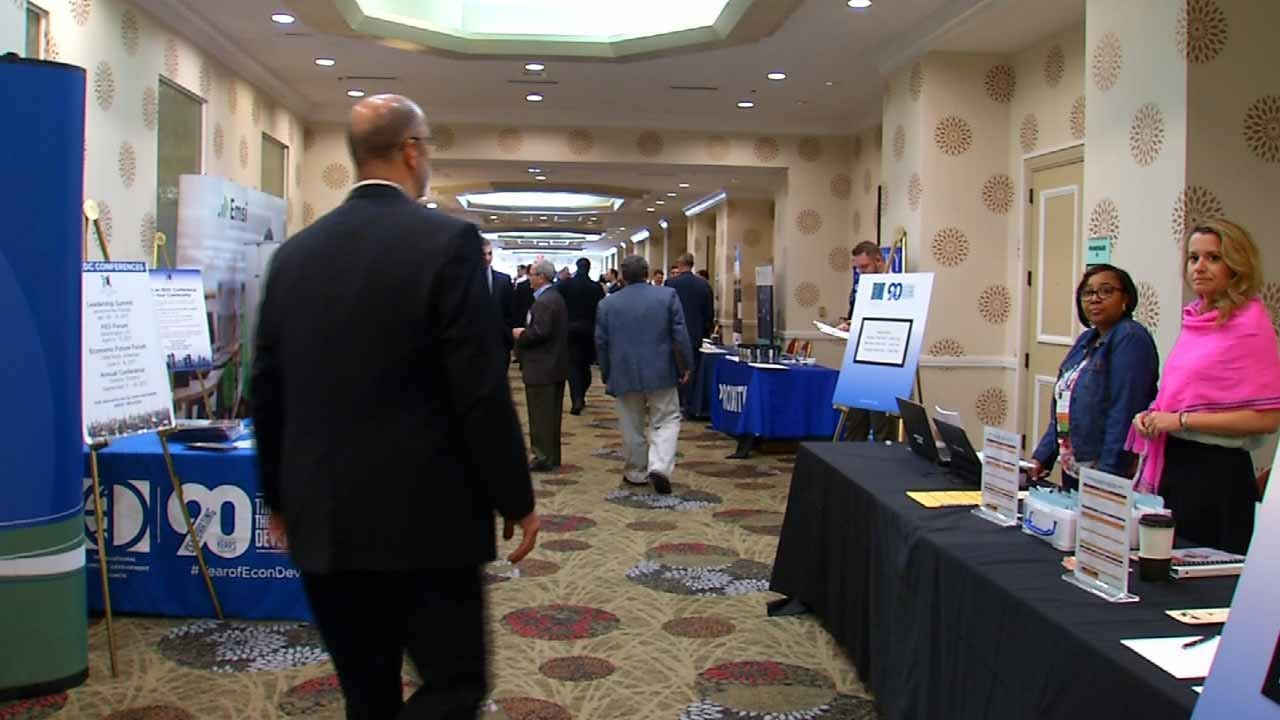 Thousands Come To Tulsa From Across The World For Business Conference