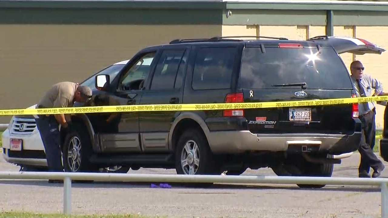 Two Found Shot To Death In SUV At Tulsa's Chamberlain Park