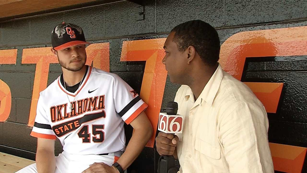 Harold Kuntz Goes One-On-One With Thomas Hatch Before Cowboys Head To Omaha
