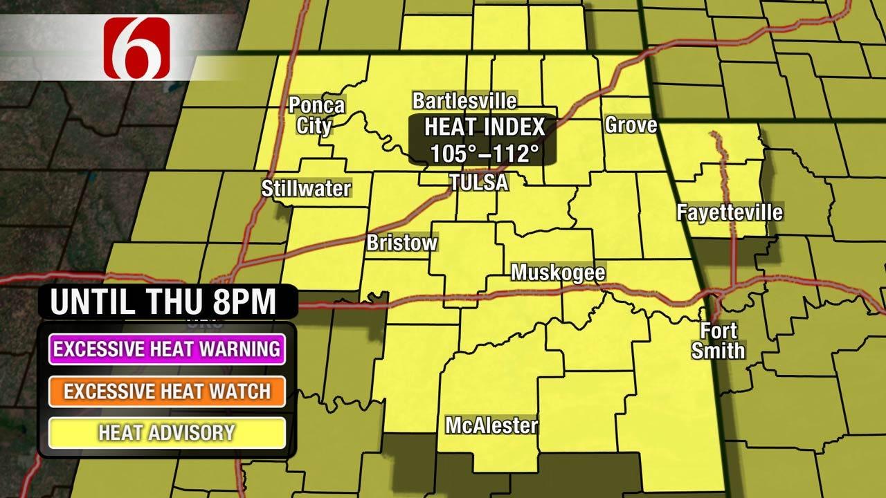 Heat Advisory Today For Oklahoma