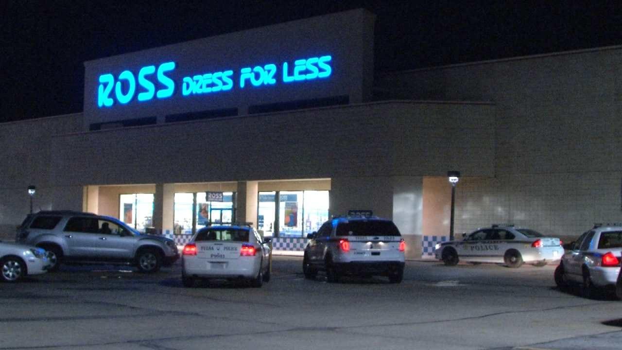 Police Arrest Tulsa Larceny Suspect After Short Pursuit