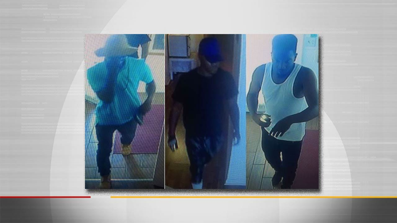 Police Seek To Identify Persons Of Interest In Two Tulsa Robberies