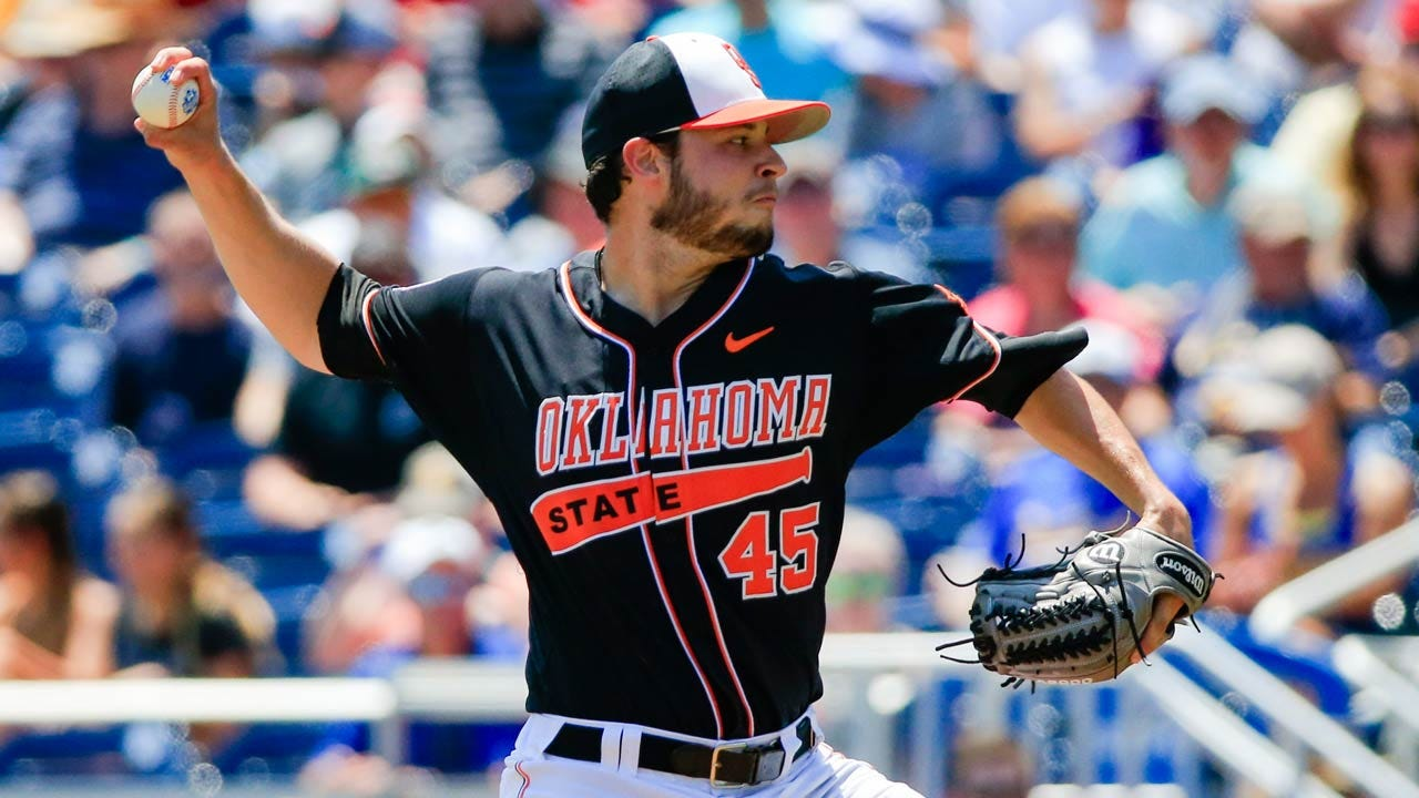 Hatch Pitches Shutout, Leads OSU Past UCSB In College World Series Opener