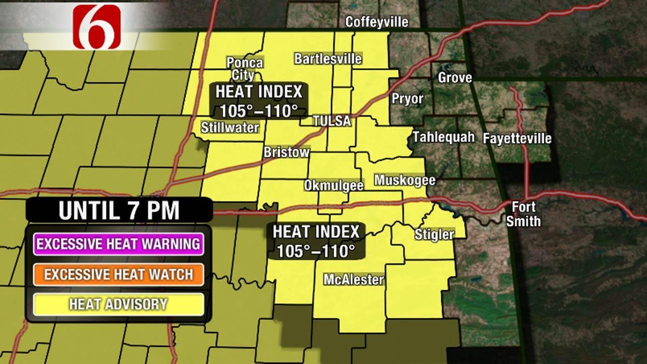 Heat Advisory Continues For Oklahoma