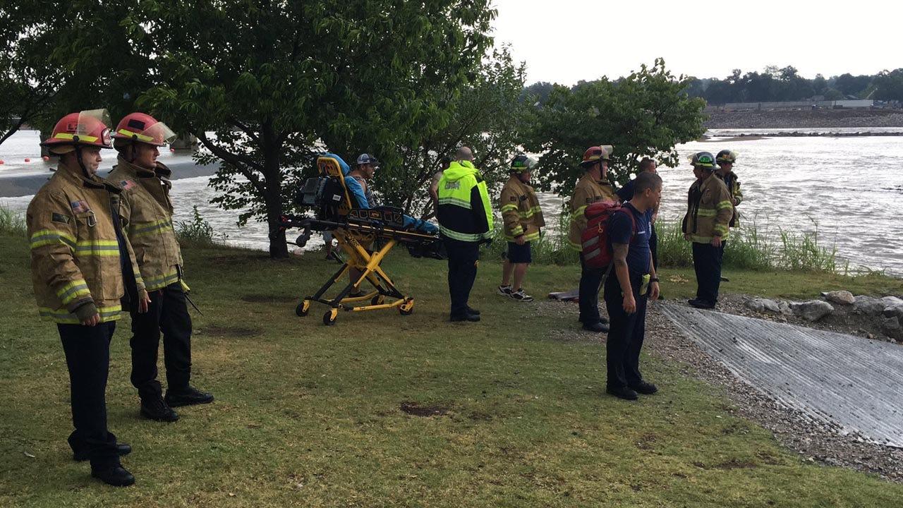 Man Struck By Lightning On Arkansas River In Tulsa