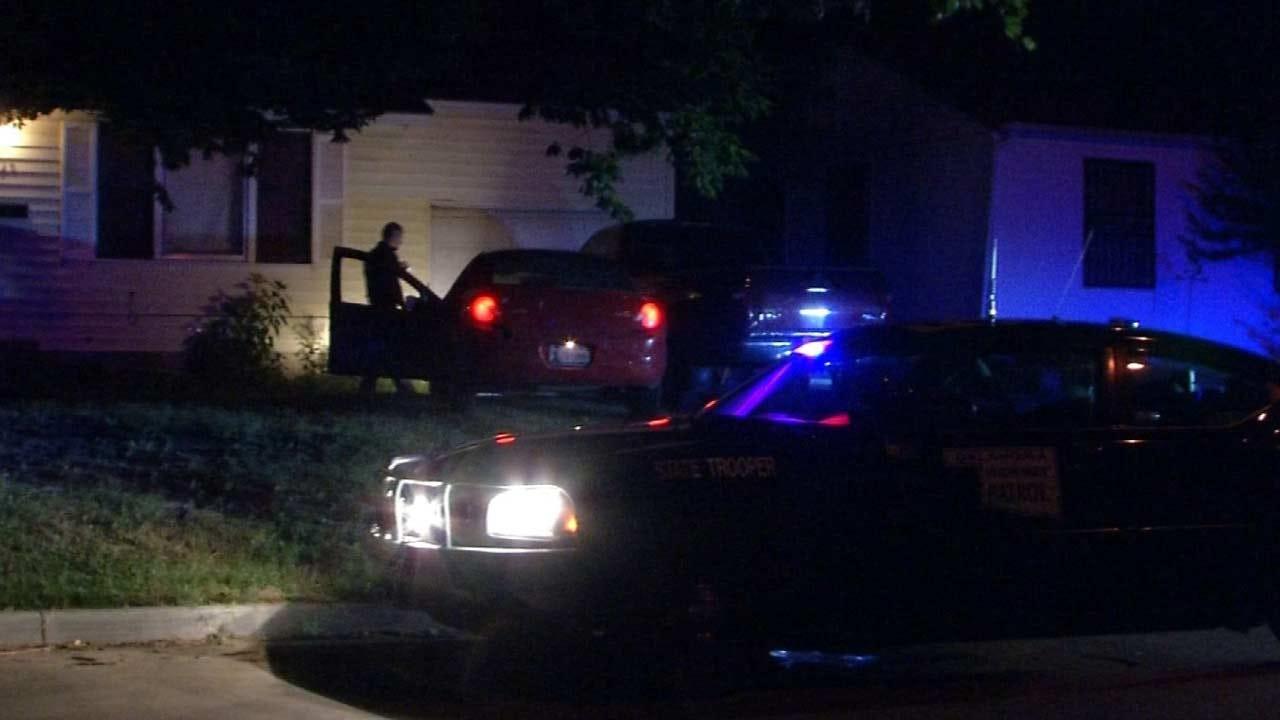 Stolen Car Crashes Into Tulsa Driveway; One In Custody